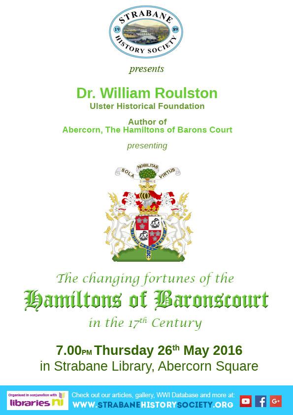 SHS Event Hamiltons of Baronscourt