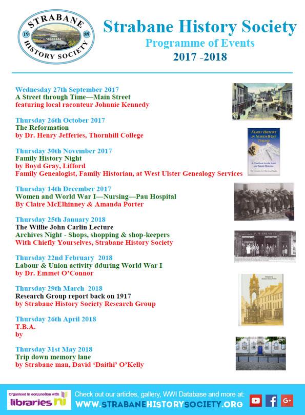 SHS 2017-18 Programme