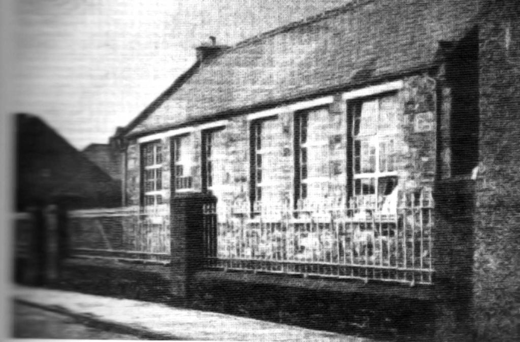 Strabane Academy School in 1883